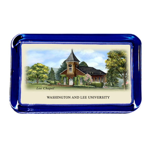 Image For Eglomise Lee Chapel Paperweight