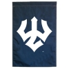 Cover Image for Vertical Trident Nylomax Home Banner, Royal or Navy