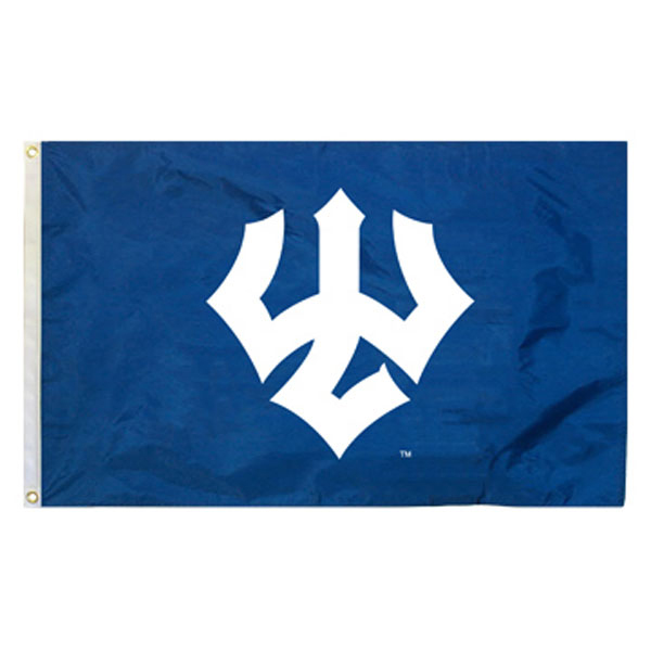 Cover Image For Horizontal Grommet Trident Flag, Royal or Navy