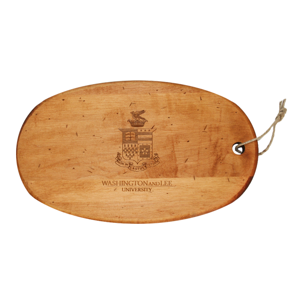 Image For Oval Cutting Board with Crest