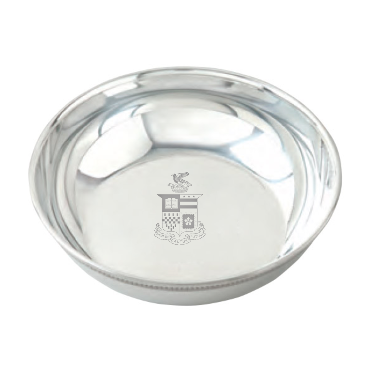 Image For Salisbury Pewter Candy Dish, Crest