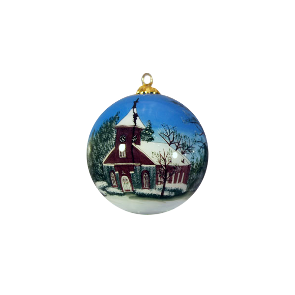 Image For Hand-Painted Lee Chapel Ornament