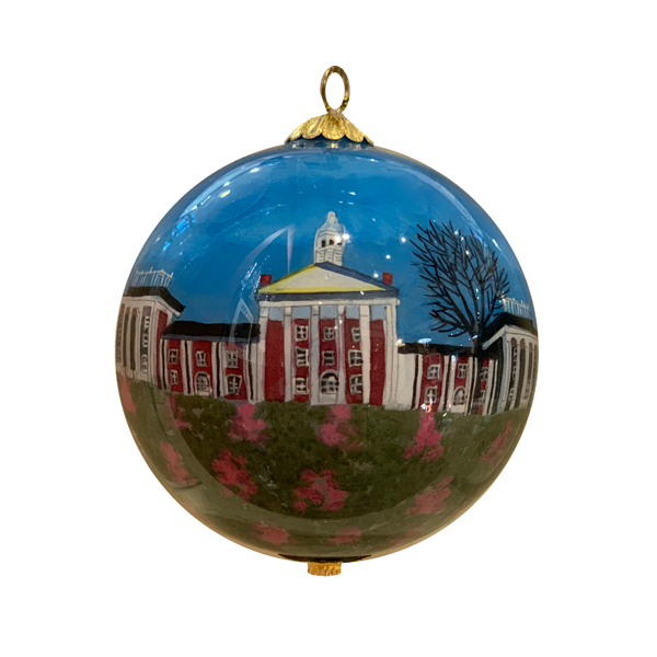 Image For Hand-Painted Colonnade Ornament