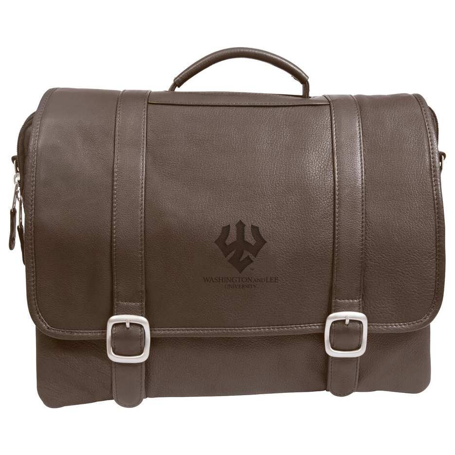 Image For Willow Rock Computer Briefcase with Trident, Brown or Black
