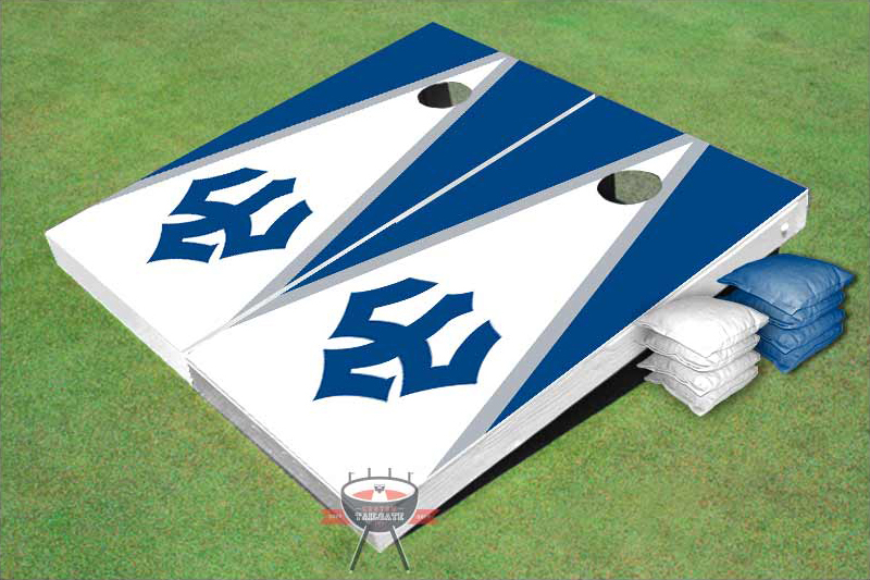 Image For Trident Cornhole Set, White