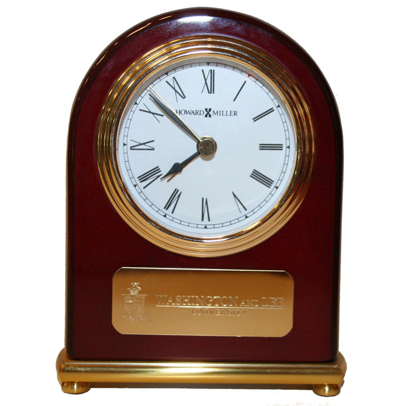 Image For Howard Miller Clock with Plaque