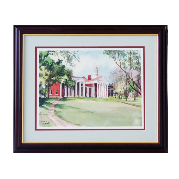 Image For Dr. Ju Framed Colonnade Print, Small