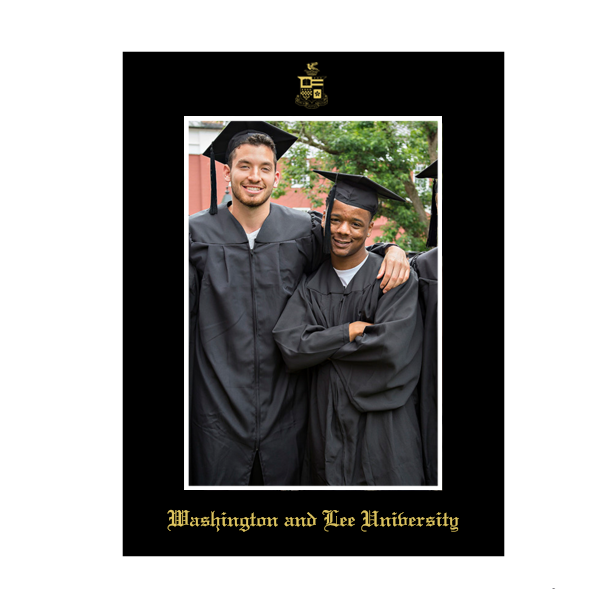 Image For Graduation Photo Mat with Crest 5x7