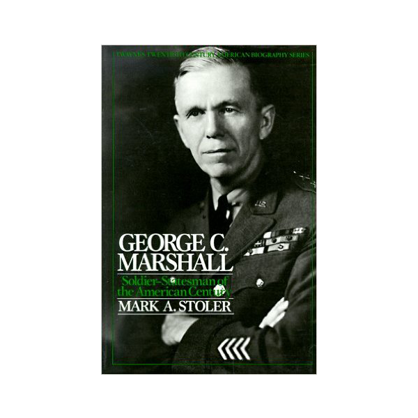 Cover Image For American Bio. Series: George C. Marshall (PB)