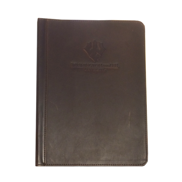 Cover Image For Vintage Hardback Zipper Padfolio, Trident