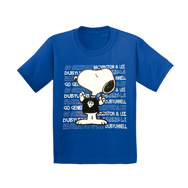 Image For Snoopy Joe Cool Generals Tee, Royal