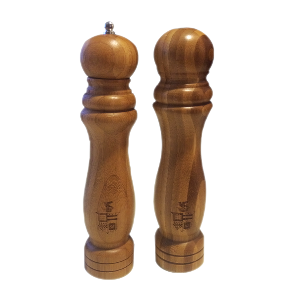 Image For Bamboo Salt and Pepper Shakers