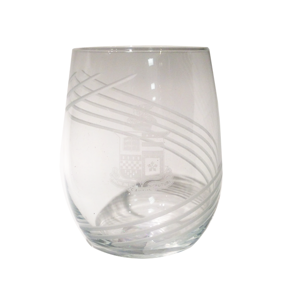 Image For Stemless Swirl Wine Glass