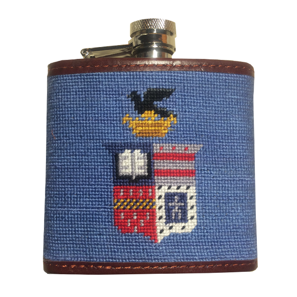 Image For Smathers & Branson Crest Flask