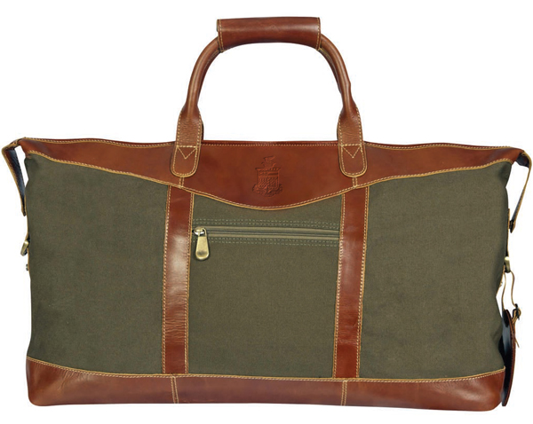 Image For Canyon Leather Cloth Duffel