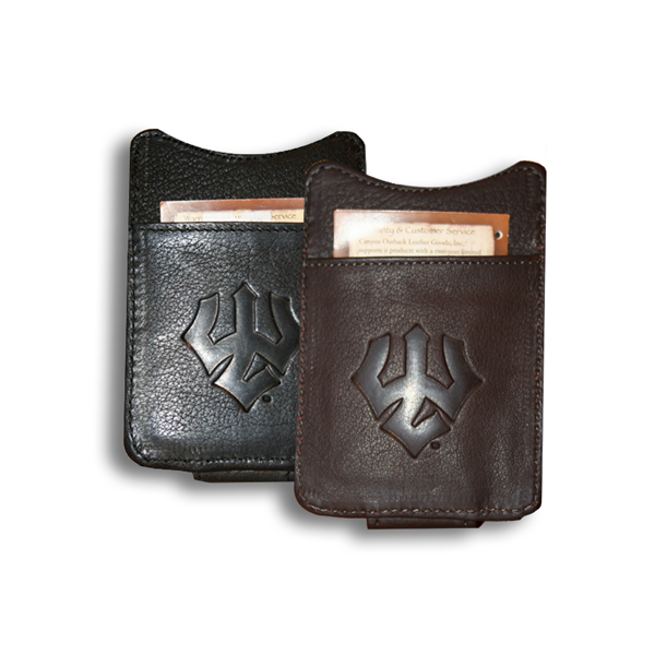 Image For Canyon Leather Money Clip, Trident