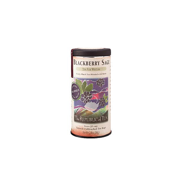 Image For Blackberry Sage Black Tea Bags