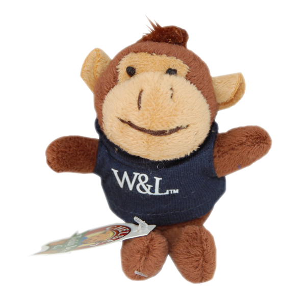 Image For Monkey Plush Keychain