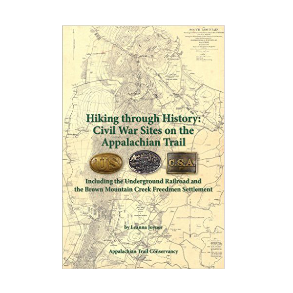 Cover Image For Hiking Through History: Civil War Sites on the AT (PB)