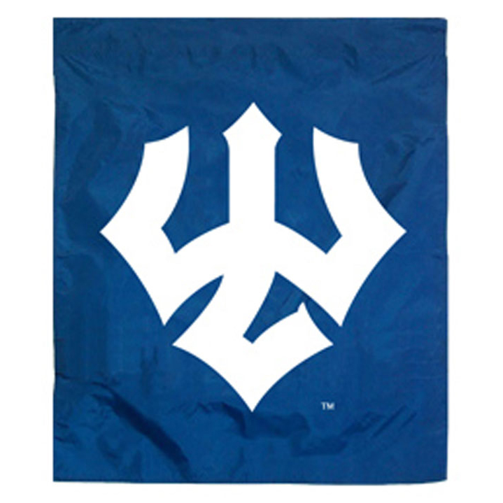 Image For Trident Garden Flag, Royal