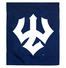 Image For Trident Garden Flag, Navy