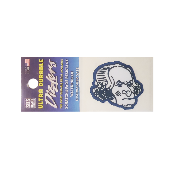 Image For Dizzler George Washington Decal
