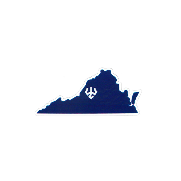 Image For Dizzler Virginia Decal, Small