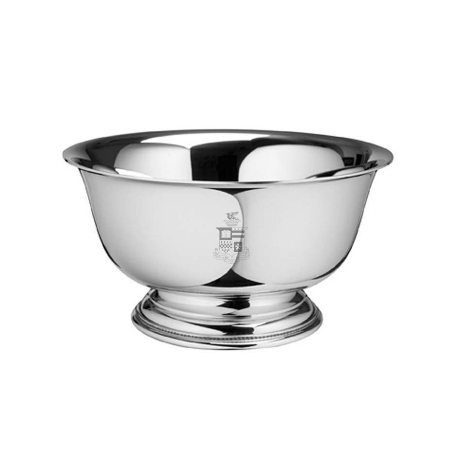 "Image For Salisbury Pewter Revere 5"" Bowl, Crest"