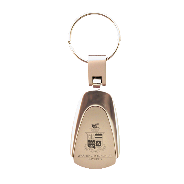 Image For Teardrop Crest Keychain