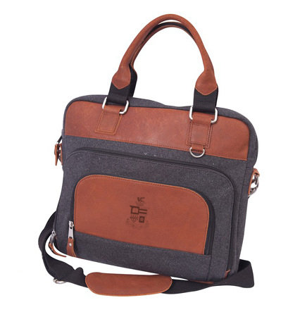 Image For Canyon Leather Urban Edge Briefcase