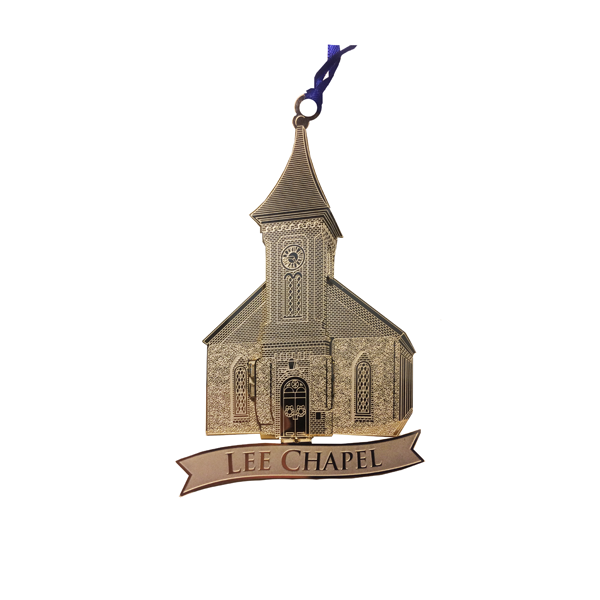 Image For Lee Chapel Brass Ornament