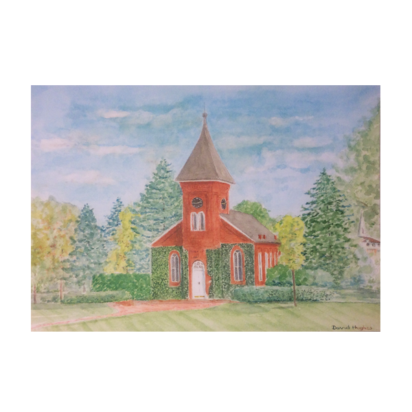 Image For Lee Chapel Note Card