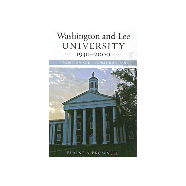 Cover Image For Washington and Lee 1930-2000 (HB)