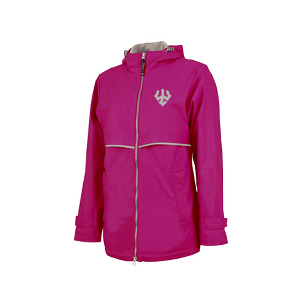 Image For Charles River Rain Jacket, Pink