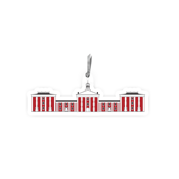 Image For Acrylic Colonnade Ornament