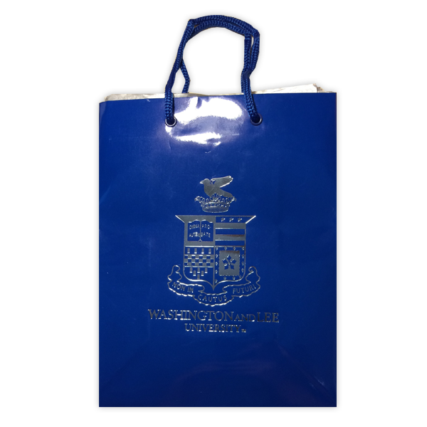 Image For Gift Bag with Crest, Royal