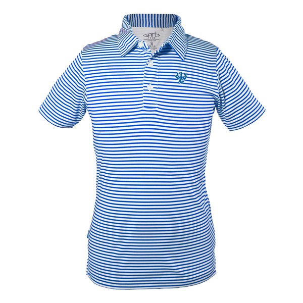Image For Royal Stripe Polo, Youth
