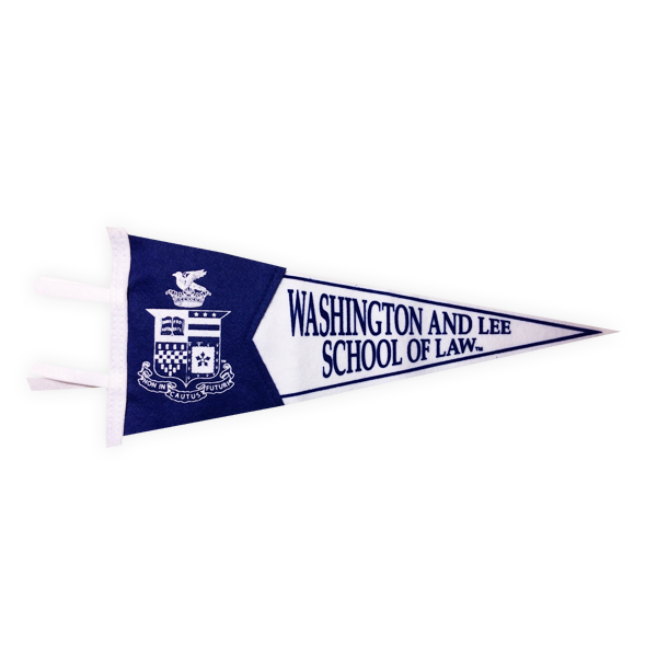 Image For Crest School of Law Pennant