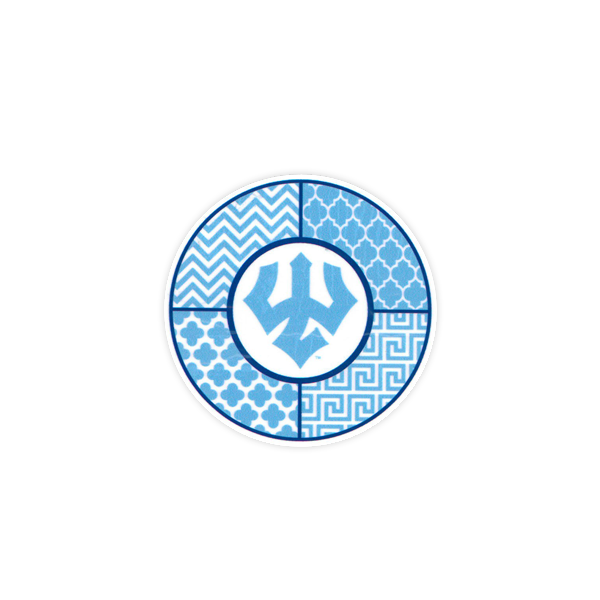 Image For Dizzler Sorority Lt. Blue/White Trident