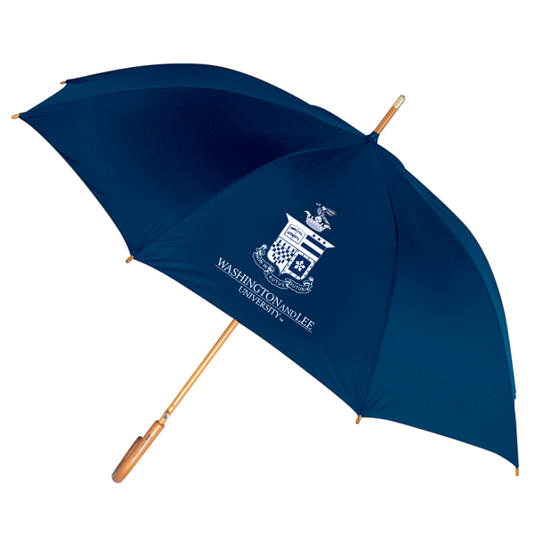 Image For Curved Handle Crest Umbrella