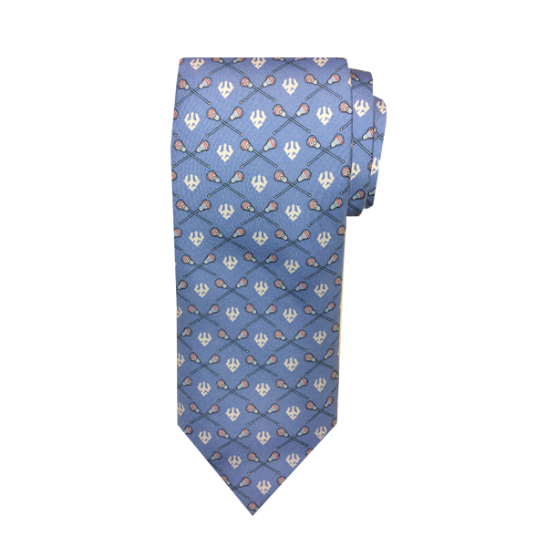 Cover Image For Vineyard Vines Lacrosse Tie, Light Blue
