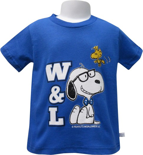 Image For Snoopy and Woodstock W&L Tee