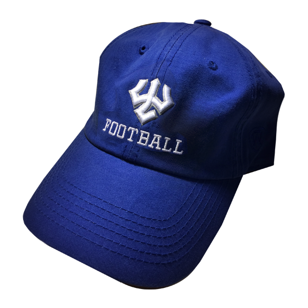 Image For Football Hat, Royal