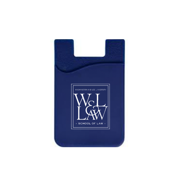 Image For Law Cell Phone Card Holder, Navy