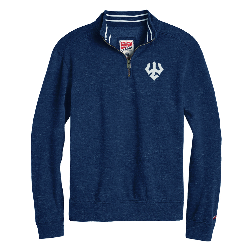 Cover Image For League Collegiate Heather 1/4 Zip