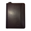 Cover Image for Crest Leather Padfolio, Black or Navy