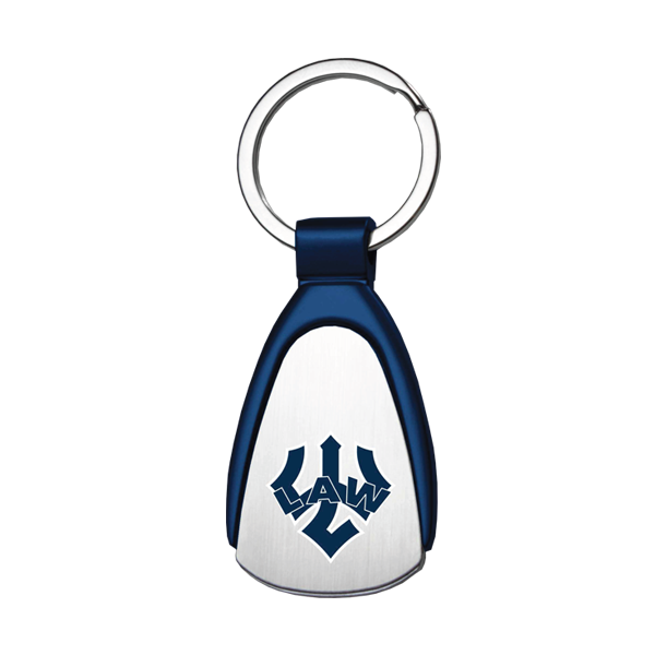 Image For Law Tear Drop Keychain