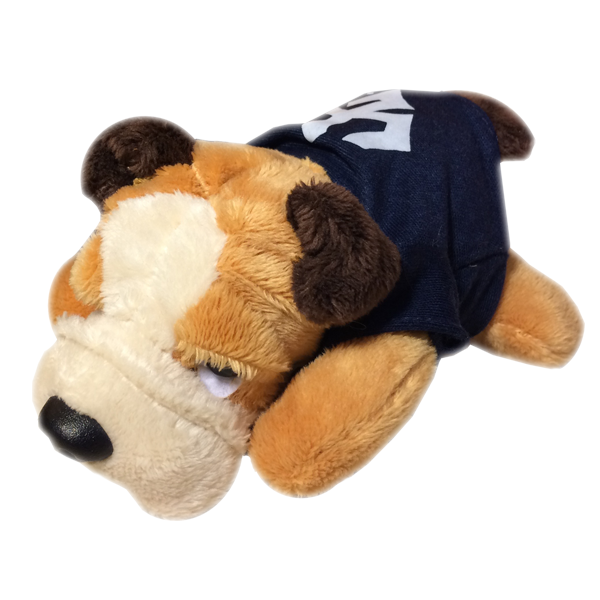 Image For Bulldog Chublet Plush