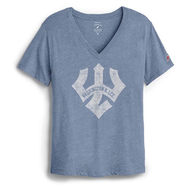Image For League Intramural Boyfriend Tee, Lt. Blue or Navy