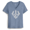 Cover Image for League Intramural Boyfriend Tee, Lt. Blue or Navy